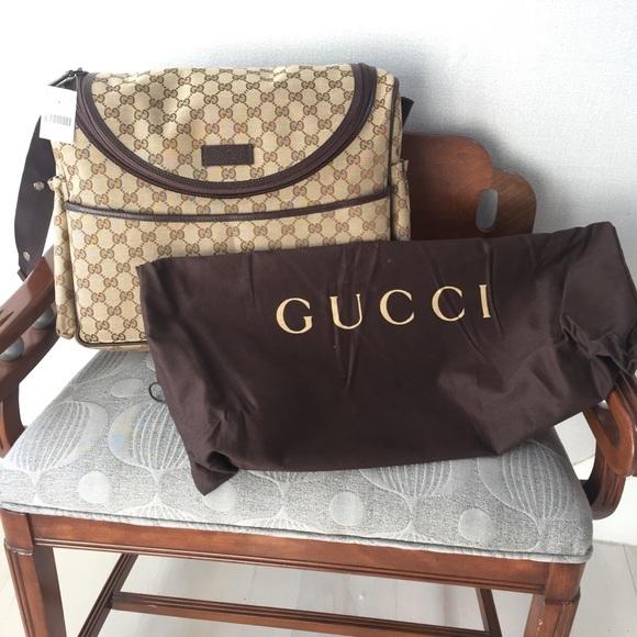 1403fc9aa Gucci Bags | Gg Supreme Diaper Bag | Poshmark